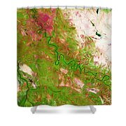 Baghdad Iraq Shower Curtain by Phill Petrovic