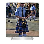 Bagpipes Shower Curtain