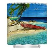 Bahama Beach Shower Curtain