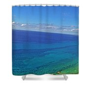 Bahama Colors Shower Curtain