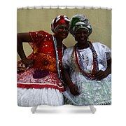 Bahian Ladies Of Salvador Brazil 3 Shower Curtain