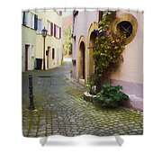 Bahnhof St. Shower Curtain