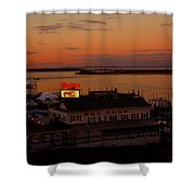 Bahrs Landing Shower Curtain by Raymond Salani III