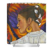Baile Con Colores Shower Curtain