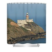 Baily Lighthouse Howth Shower Curtain
