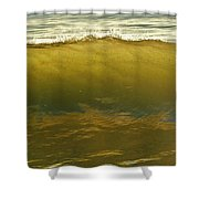 Bait Filled Wave 7 10/31 Shower Curtain
