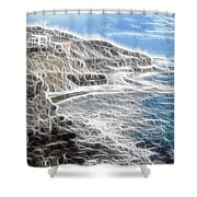 Baja Norte Shower Curtain