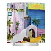 Bajas Edge Shower Curtain