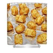 Baked Potato Treats Shower Curtain