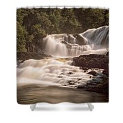 Bakers Brook Falls Shower Curtain