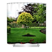 Bakewell Country Gardens - Bakewell Town - Peak District - England Shower Curtain