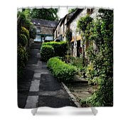 Bakewell Country Terrace Houses - Peak District - England Shower Curtain