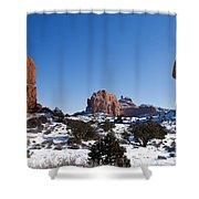Balanced Rock Arches National Park Utah Shower Curtain