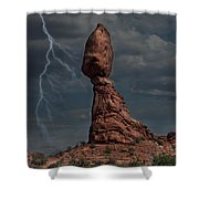 Balanced Rock Shower Curtain
