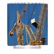 Balancing Act Shower Curtain