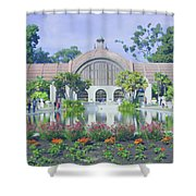 Balboa Park Botanical Garden Shower Curtain