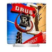 Balboa Pharmacy Drug Store Newport Beach Photo Shower Curtain
