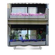 Balconies 4 Shower Curtain