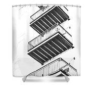 Balconies Shower Curtain