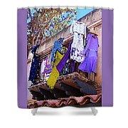 Balcony Shower Curtain by Ben and Raisa Gertsberg