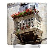 Balcony In Split Croatia Shower Curtain