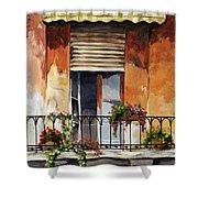 Balcony Of Ancona Shower Curtain