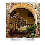 Balcony St Lucia Shower Curtain