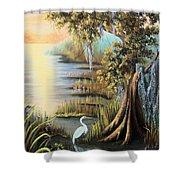 Bald Cypress Shower Curtain