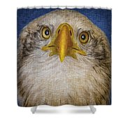 Bald Eagle 4 Shower Curtain