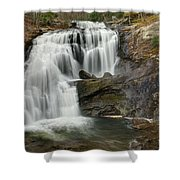Bald River Falls Shower Curtain