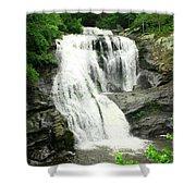 Bald River Falls Shower Curtain