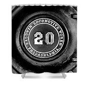 Baldwin 20 - Bw Shower Curtain