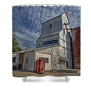 Baldwin Feed Company Shower Curtain