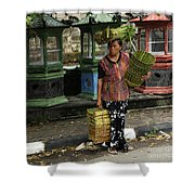 Bali Indonesia Proud People 1 Shower Curtain