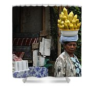 Bali Indonesia Proud People 2 Shower Curtain