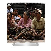 Bali Indonesia Proud People 3 Shower Curtain
