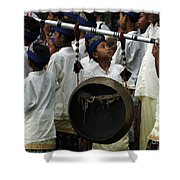 Bali Indonesia Proud People 4 Shower Curtain