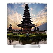 Bali Water Temple 2 Shower Curtain