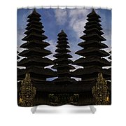 Bali Water Temple Shower Curtain