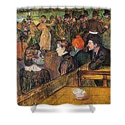 Ball At The Moulin De La Galette Shower Curtain