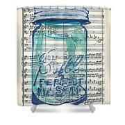 Ball Jar Classical  #132 Shower Curtain