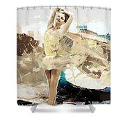 Ballerina 34 Shower Curtain
