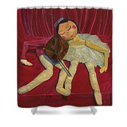 Ballerina And Partner Shower Curtain