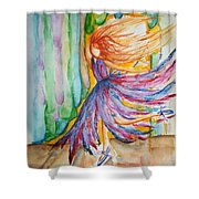 Ballerina Curtain Call Shower Curtain