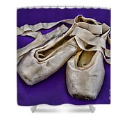 Ballerina Slippers Shower Curtain