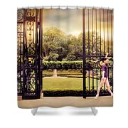 Ballet At The Vanderbilt Gate Shower Curtain