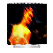Ballet Blur 3 Shower Curtain