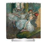 Ballet Dancers Shower Curtain