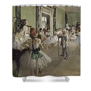 Ballet School Shower Curtain