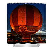 The Great Balloon Shower Curtain